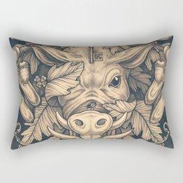 Good Luck Rectangular Pillow