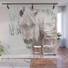 Sketchy Horse  Wall Mural