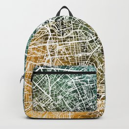 Berlin Germany City Map Backpack