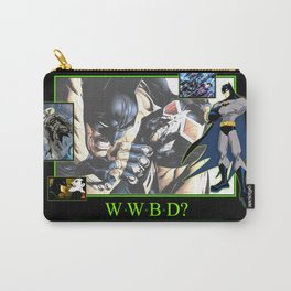 """INK-SPIRATION: """"W.W.B.D."""" Carry-All Pouch"""