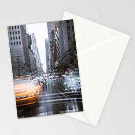 Streets as grey as my mood Stationery Cards