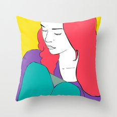 FIONA APPLE Throw Pillow