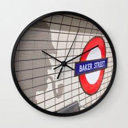Baker Street Wall Clock