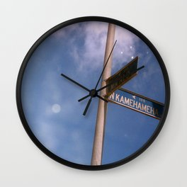Kamehameha Wall Clock