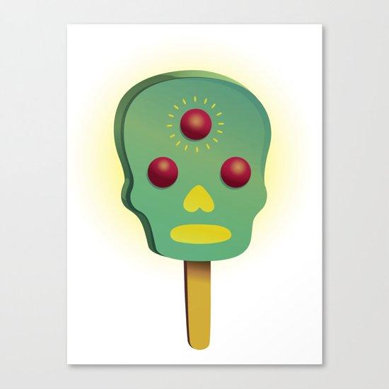 3rd ice cream Canvas Print