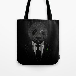 Sir Panda Tote Bag