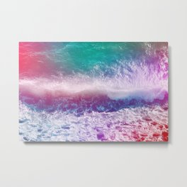 Infinite Waves and Endless Summers Metal Print