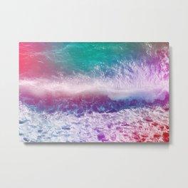 Infinite Waves and Endless Summers Metal Print