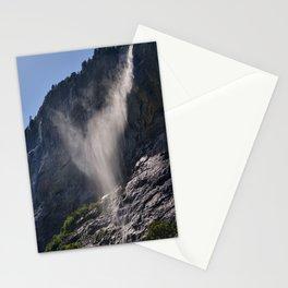 The Ghost. Lauterbrunnen Waterfalls. Alps. Switzerland Stationery Cards