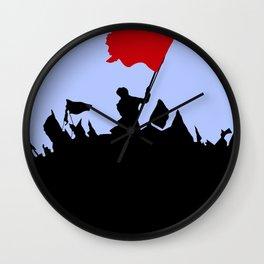 Les Miserables Minimalist Revolution Wall Clock