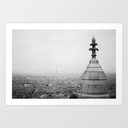 Paris from Montmarte Art Print