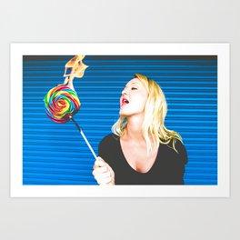 The Candyman Can Art Print