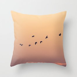 Pájaros Throw Pillow