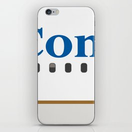 Plane Tees - Continental Airlines iPhone Skin