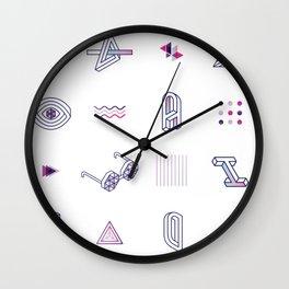 Optical Lovers Wall Clock