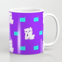 Kitty Mail - Pattern Coffee Mug
