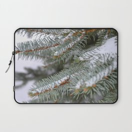 Softly, One Winter Day Laptop Sleeve