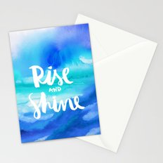 Rise & Shine [Collaboration with Jacqueline Maldonado] Stationery Cards