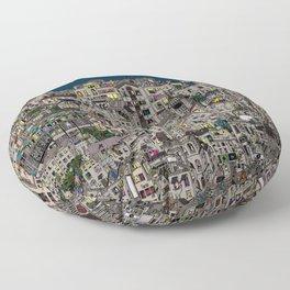 London Favela Floor Pillow