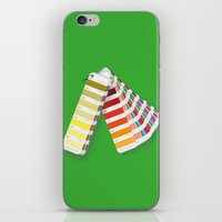 pantone iPhone & iPod Skins featuring PANTONE by VincenzoRusso