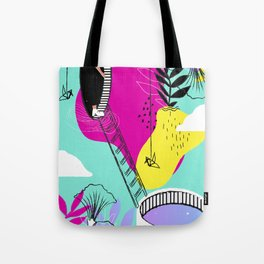 Daydreaming in ChromaCity Tote Bag
