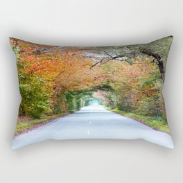 Autumn tunnel Rectangular Pillow