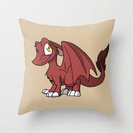 Chocoberry SD Furry Dragon Throw Pillow