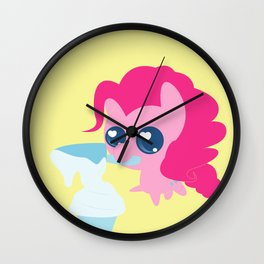 All You Gotta Do Is Take a Cup of Flour Wall Clock