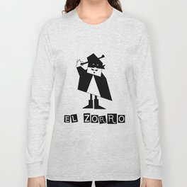 EL ZORRO Long Sleeve T-shirt