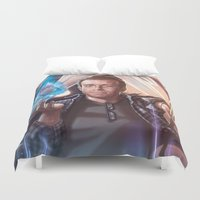 persona Duvet Covers featuring Persona Goldie by pandamusk