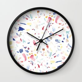 Scatter Brain No. 2 Wall Clock