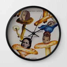 Lactarius Wall Clock
