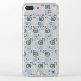Retro #1 Clear iPhone Case