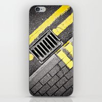 grid iPhone & iPod Skins featuring Grid by PRE Media