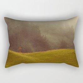 FADING FAITH Rectangular Pillow