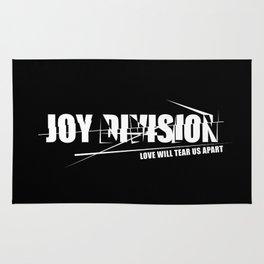 Rock graphic art - 80s alternative band JOY DIVISION #WHITE Rug