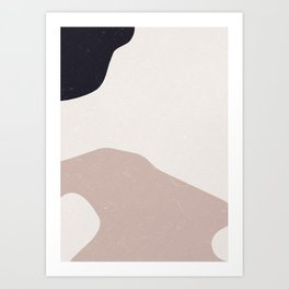 Minimal Modern Art Art Print