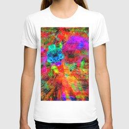 Angel Caught In A Wind Twist T-shirt