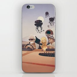 Fear and Loathing on Tatooine iPhone Skin