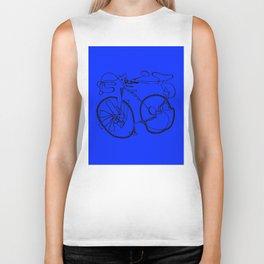 10-Speed -- Blue Biker Tank