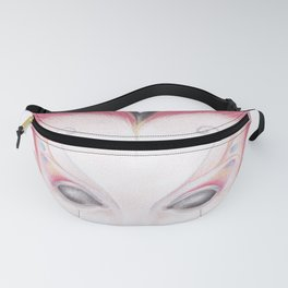 Peacock Butterfly Girl Fanny Pack