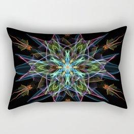 Electric Star Rectangular Pillow