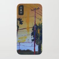 hollywood iPhone & iPod Cases featuring Hollywood by Marissa Girard