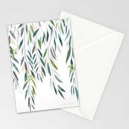 Eucalyptus Drop  Stationery Cards