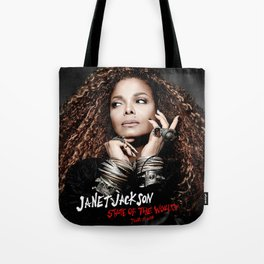 JANET JACKSON STATE OF THE WORLD LIVE TOUR DATES 2019 FIZI Tote Bag