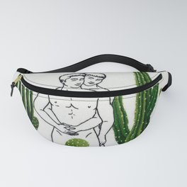 """Embroidery art """"Cactus"""" printed/ Gay art Fanny Pack"""