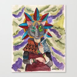 The Shaman Canvas Print