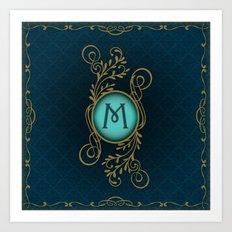 Letter M Art Print