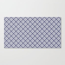 romanian popular motif Canvas Print