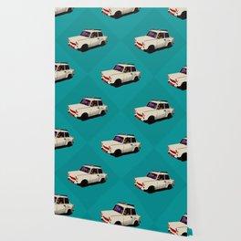 Trabant white pop Wallpaper